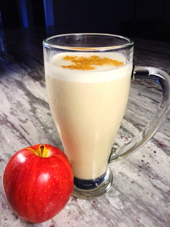 Apple Pie protein smoothie - Fall flavors