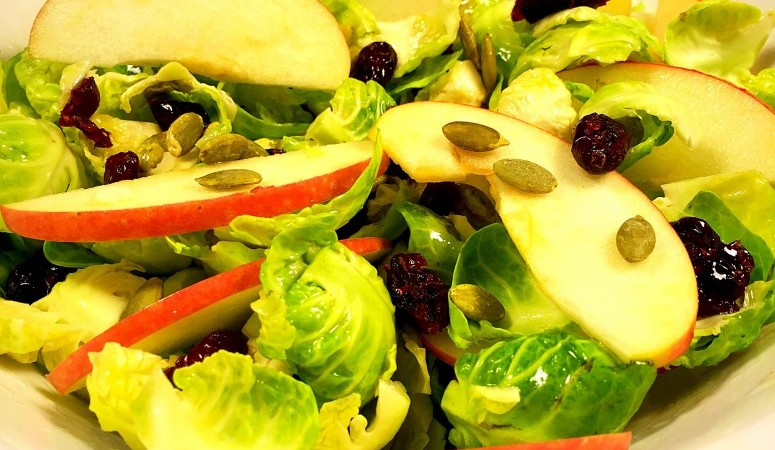 Brussels Sprouts & Apple Salad